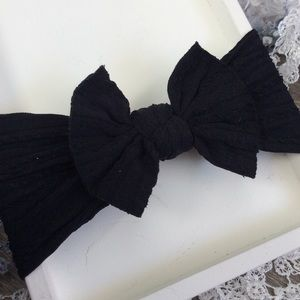 Other - Boutique Baby Girls Black Headband